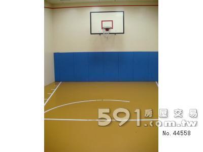 公設之一室內籃球場