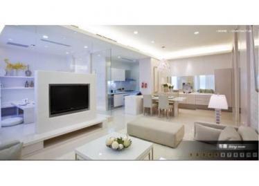新竹買屋,東區買房子,住宅出售,從客廳看向餐及廚房