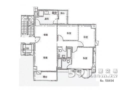 房屋格局圖