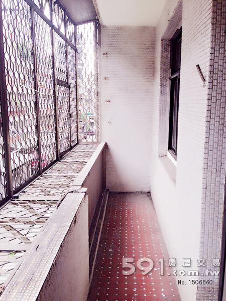 寬敞前陽台